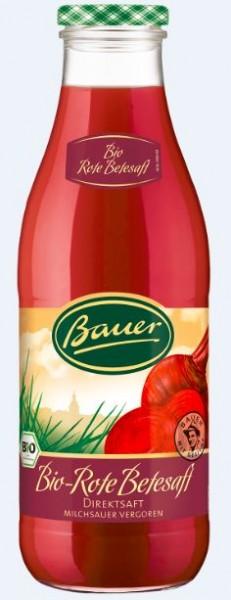 Bauer Bio Rote Beete 6x0,98 Mehrweg