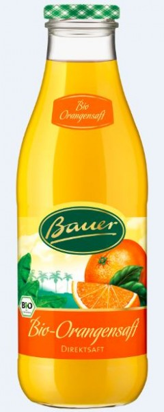 Bauer Bio Orange 6x0,98 Mehrweg