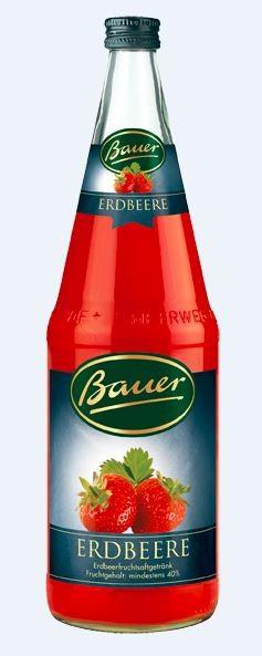 Bauer Erdbeere 6x1,0 Mehrweg