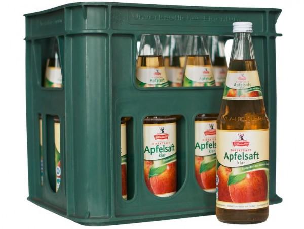 Steinmeier Apfel klar 12x0,7 Mehrweg