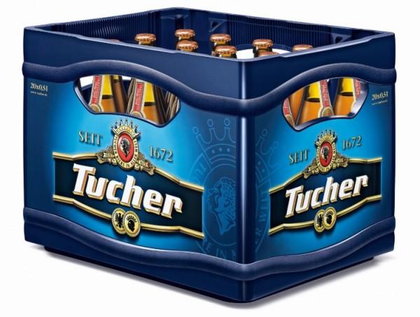 Tucher helles Hefeweizen alkoholfrei 20x0,5 Mehrweg