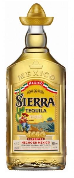 Sierra Tequila gold 38% 0.7 Einweg
