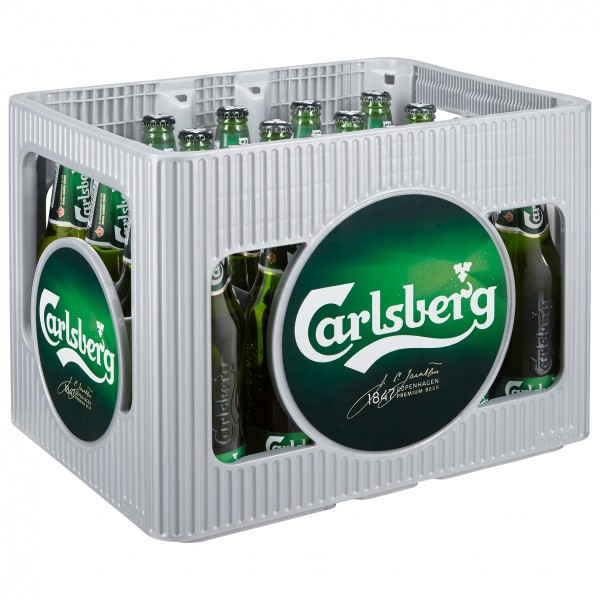 Carlsberg Beer 20x0,5 Mehrweg