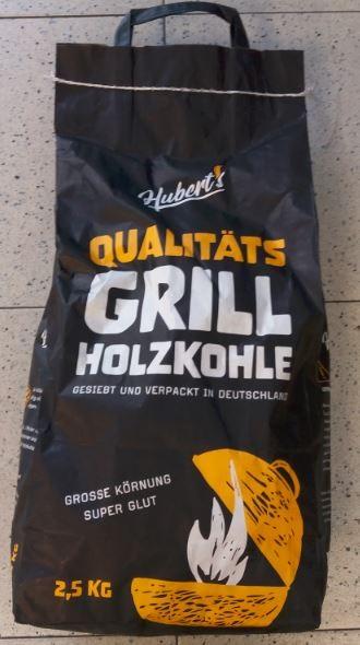 hubert's Qualitäts Grill-Holzkohle 2,5 kg