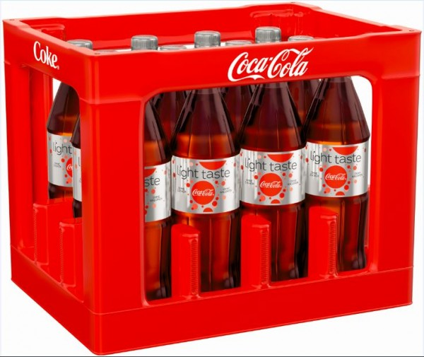 Coca Cola light 12x1,0 PET Mehrweg (D)
