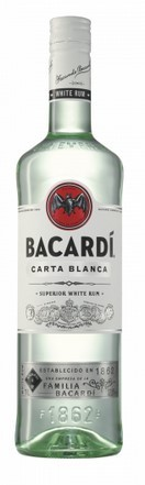 Bacardi Carta Blanca 37,5 % 1.0 Einweg