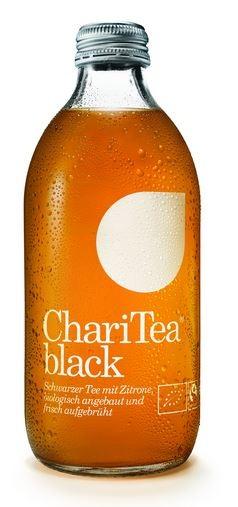 ChariTea black Fairtrade Bio-Schwarztee 20x0,33 Einweg