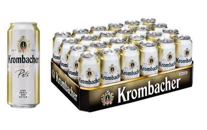 Krombacher Pils 24x0,5 Dose Einweg