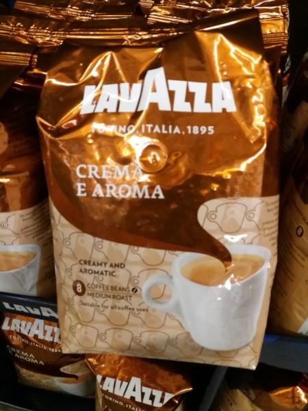 Lavazza Crema e Aroma ganze Bohnen 1000 gr. (M)