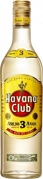 Havana Club 3 Anos 40% 0.7 Einweg