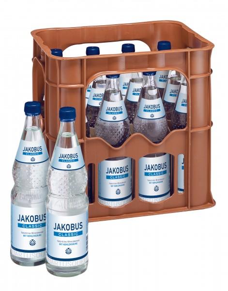 Jakobus Brunnen 12x0,7 Glasfl. Mehrweg (D)