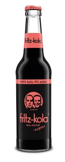 Fritz Kola null Zucker + Guarana 24x0,33 Mehrweg