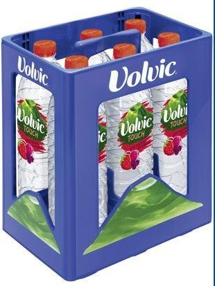 Volvic Touch Rote Früchte 6x1,5 PET Einweg Kasten (D)
