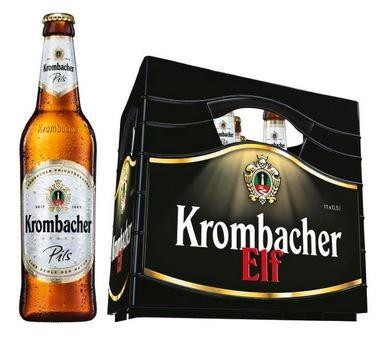 Krombacher Pils 11x0,5 Mehrweg