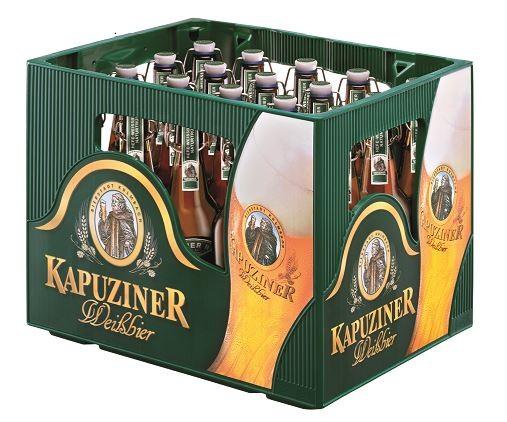 Kapuziner Weissbier 20x0,5 Mehrweg