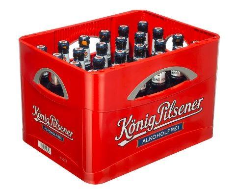 König-Pilsener alkoholfrei 24x0,33 Mehrweg