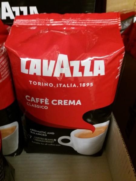 Lavazza Cafe Crema Classico ganze Bohnen 1000 gr. (M)