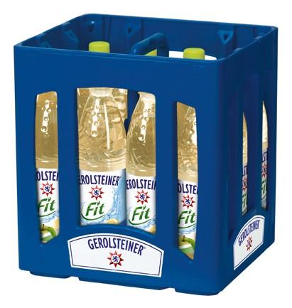 Gerolsteiner fit Apfel-Zitrone 6x0,75 PET Einweg
