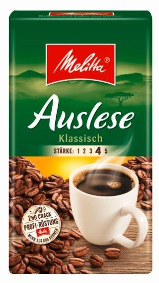 Melitta Kaffee Auslese 500 gr. gemahlen