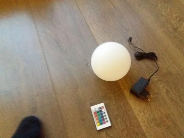 Miet-Leuchtkugel Ø 15 cm Selbstabholung