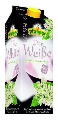 Pfanner Pure Tea Weißer Tee Zitrone/Holunder 6x2,0 Einweg