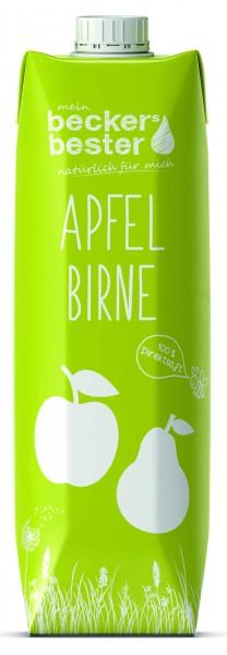 Becker's bester Apfel-Birne 1,0 Tetrapak Einweg