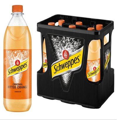 Schweppes Original Bitter Orange 6x1,0 PET Mehrweg