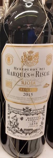 Rioja Reserva Marqués de Riscal 0,75