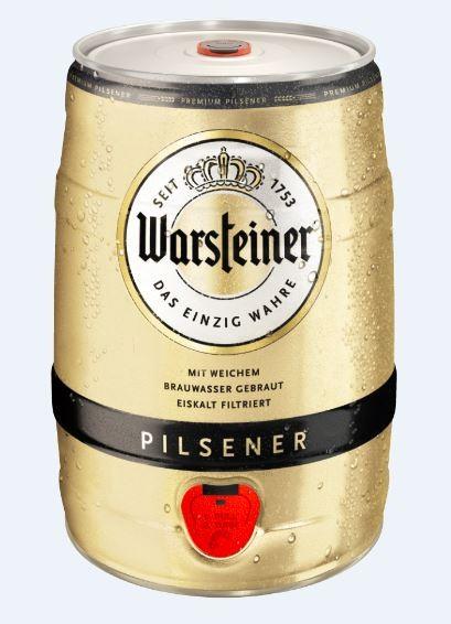 Warsteiner Premium Verum 5 ltr. Dose Einweg