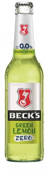 Beck's Green Lemon Zero 24x0,33 Mehrweg