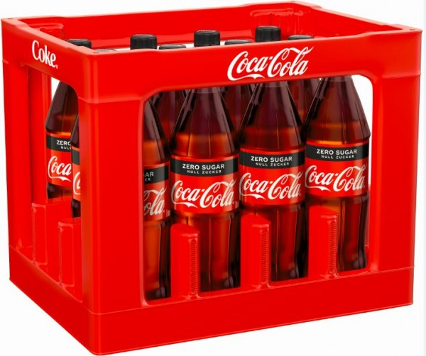 Coca Cola Zero 12x1,0 PET Mehrweg (D)