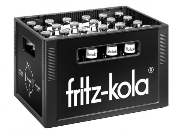 Fritz Kola zuckerfrei 24x0,33 Mehrweg (D)
