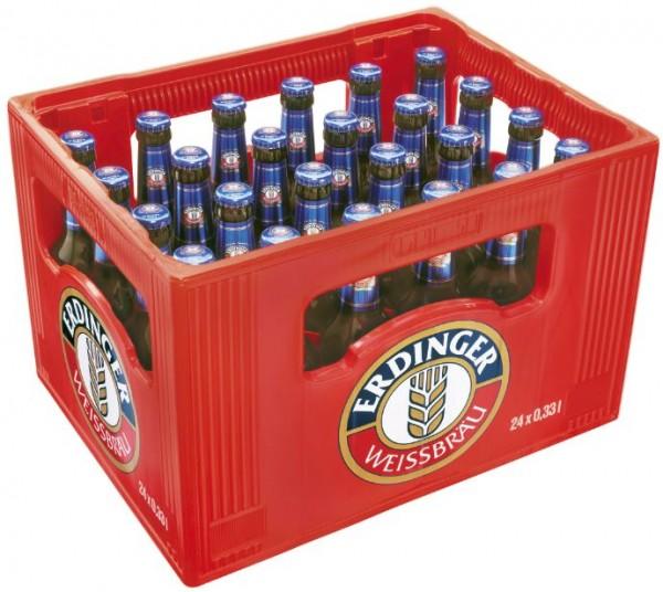 Erdinger alkoholfrei 24x0,33 Mehrweg