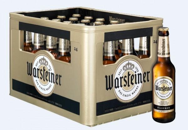 Warsteiner Premium Verum 24x0,33 Mehrweg (D)