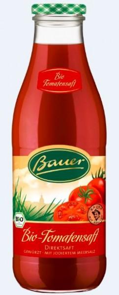 Bauer Bio Tomatendirektsaft 6x0,98 Mehrweg
