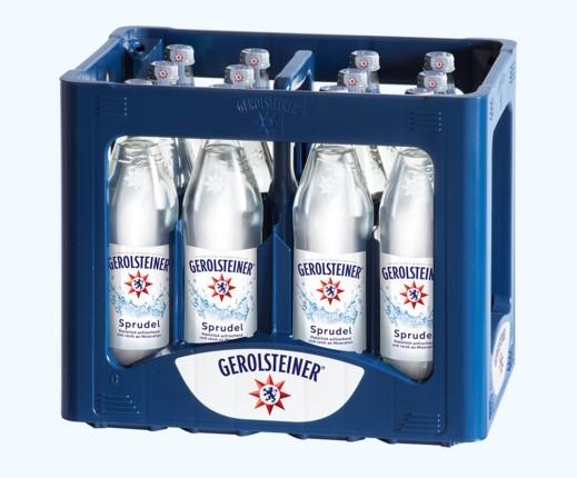 Gerolsteiner Sprudel 12x0,75 Glasfl. (D)