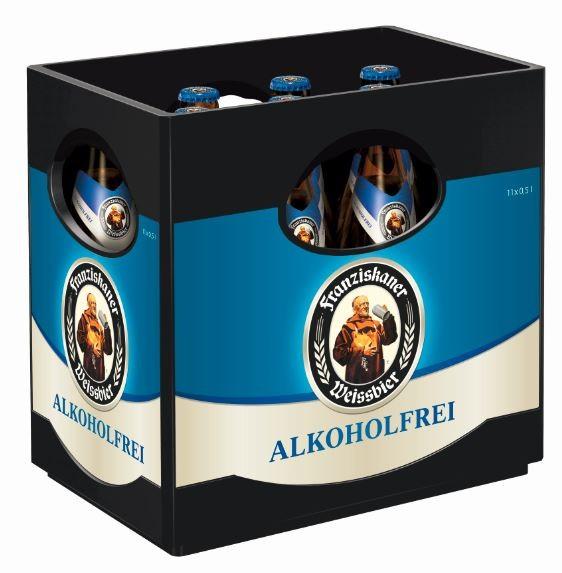 Franziskaner Hefeweissbier alkoholfrei 11x0,5 Mehrweg