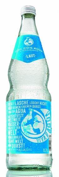 Viva con Agua laut 12x0,7 Glasfl. Mehrweg