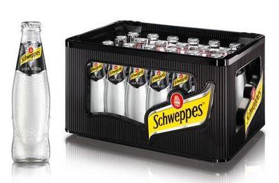 Schweppes SodaWater 24x0,2 Mehrweg (B)