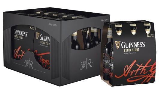 Guinness Extra Stout 24x0,33 Mehrweg