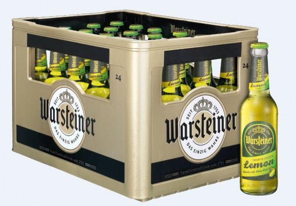 Warsteiner Lemon 24x0,33 Mehrweg