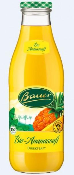 Bauer Bio Ananas 6x0,98 Mehrweg