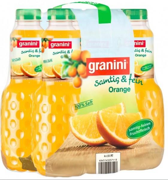 Granini Orange 6x1,0 PET Einweg