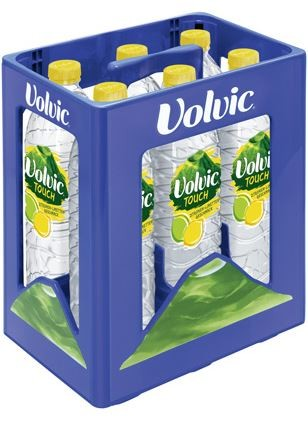 Volvic Touch Zitronen/Limette 6 x 1,5 PET Einweg Kasten (D)