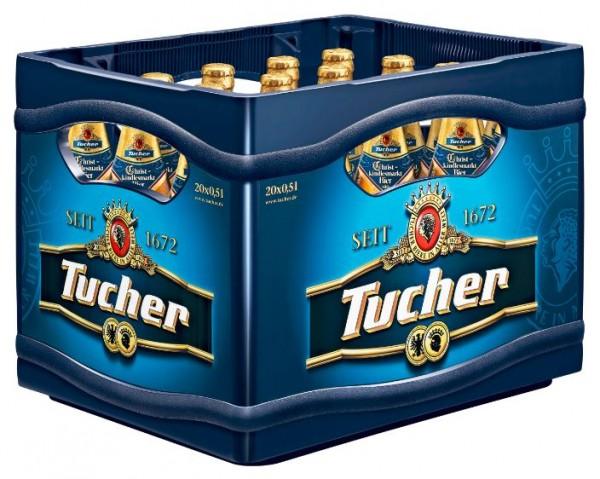 Tucher Pils Christkindlsmarktbier 20x0,5 Mehrweg