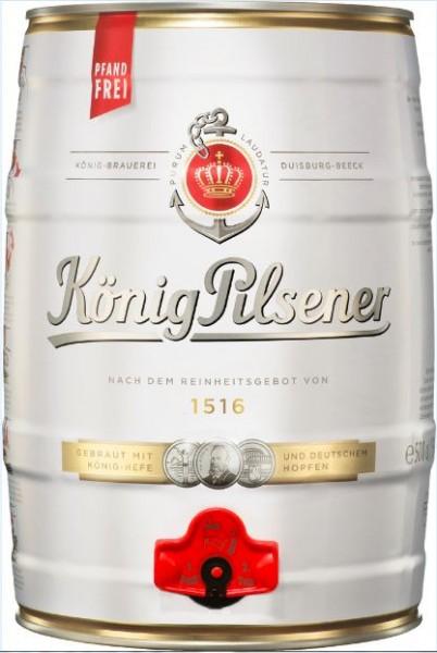 König-Pilsener 5 ltr. Dose Einweg