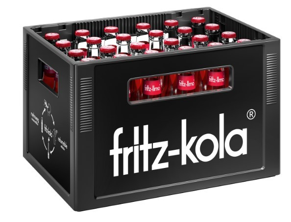Fritz Apfel/Kirsch/Holunder 24x0,33 Mehrweg