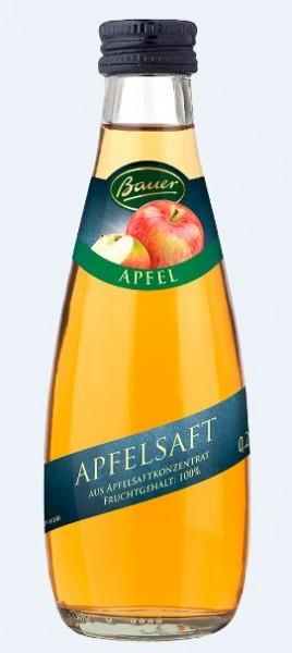 Bauer Apfel klar 24x0,2 Mehrweg
