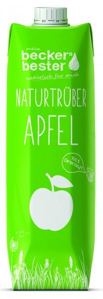 Becker's bester Apfel trüb1,0 Tetrapak Einweg