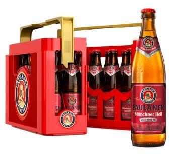 Paulaner Münchner hell alkoholfrei 20x0,5 Mehrweg